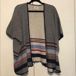 Marine layer shawl